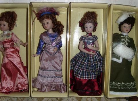 Коллекция кукол `Дамы эпохи`-2. - Марина Юрьевна Горбачева