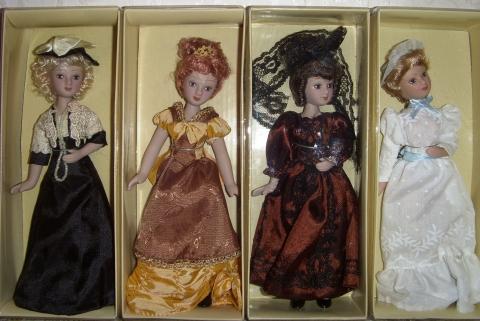 Коллекция кукол `Дамы эпохи`-4. - Марина Юрьевна Горбачева