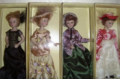 Коллекция кукол `Дамы эпохи`-5. - Марина Юрьевна Горбачева