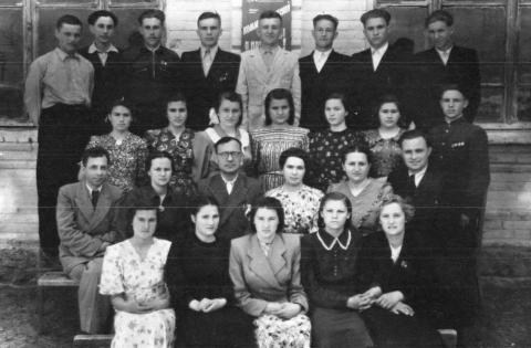 10-Б-1953 г.в. - Акимовская общеобразовательная школа №1