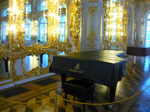 Большой зал - Александра Николаевна Литвинова