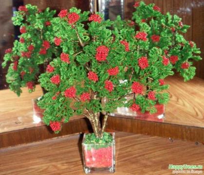 Мастер класс цветок фуксия из бисера
