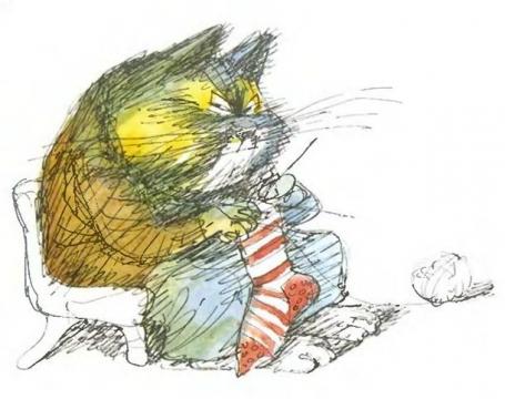 бабушка кошка - Надежда Анатольевна Дьяченкова