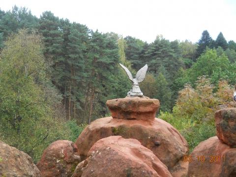 Красные Камни. Орёл, укушенный змеёй - Любовь Валентиновна Колганова