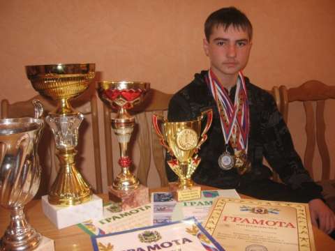Медали и кубки Иващенко Александра - МОБУ СОШ №1 ЛГО