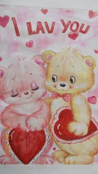 Вот такая вот симпатичная валентинка от моей Виктории - Галина Геннадьевна Куликова