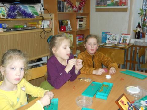 Кружок бисероплетения - Государственное бюджетное специальное (коррекционное) образовательное учреждение для...