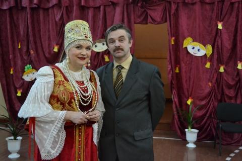 Алла Сумарокова в гостях - Андрей ghhj vtyjud
