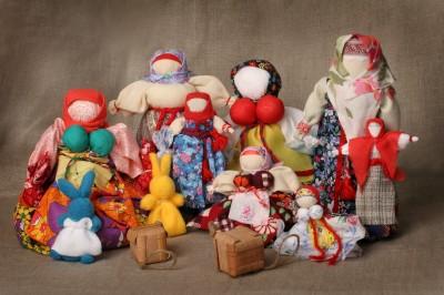 Традиционные народные игрушки России. - Марина Геннадьевна Пиксаева