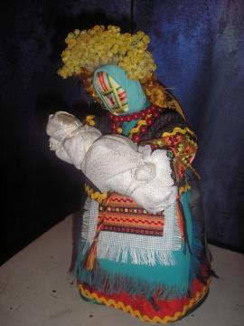 Кукла - мотанка(для будущих мам).  - Марина Геннадьевна Пиксаева