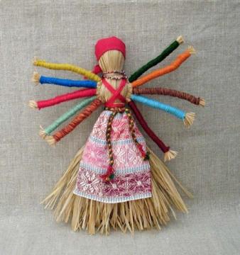 Кукла-оберег `Десятиручка`. - Марина Геннадьевна Пиксаева