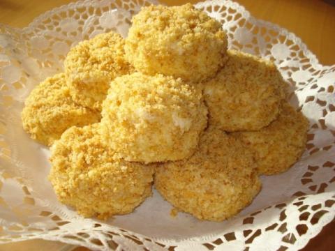Рецепт пирожных белочки