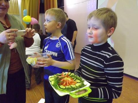 Представление салатов - Средняя общеобразовательная школа 570