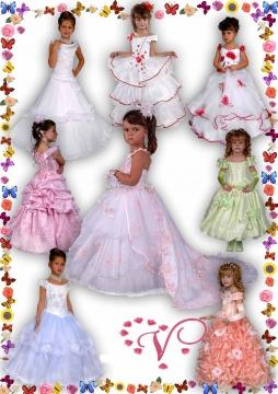 Бальные платья для девочек - ФЕМИНОКРАТИЯ