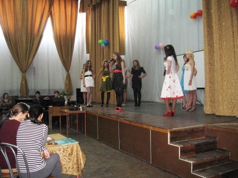 Выступление Ксении Милинчук - Лицей № 572
