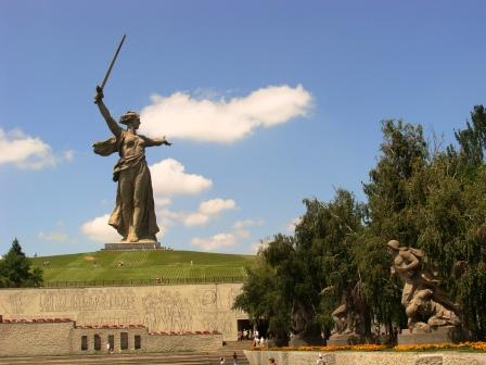 Мамаев Курган - Елена Демидовна Краснова