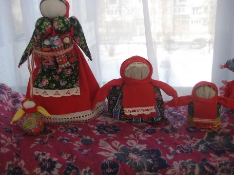 Тряпичные куклы - ГБДОУ детский сад №48