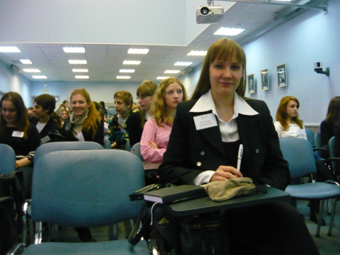 Перед началом творческого конкурса - Александра Николаевна Литвинова