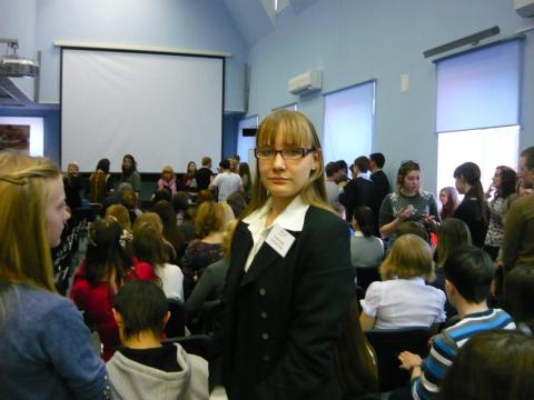 Начинается церемония награждения победителей - Александра Николаевна Литвинова