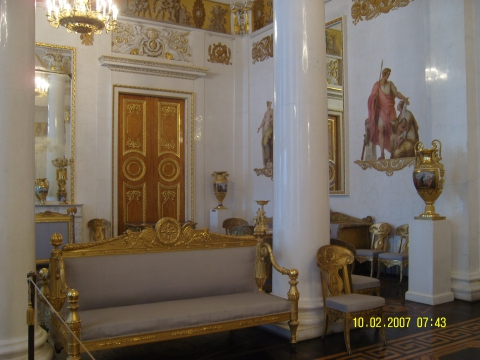 Залы Русского музея. Санкт-Петербург