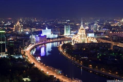 Вечерняя Москва - Светлана Анатольевна Щедрина