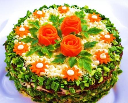 торт из куриной печени - Ольга Николаевна Козина
