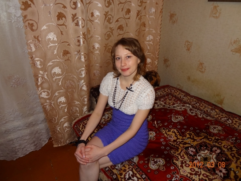 Платье ручной вязки - Юлия Анатольевна Акмазикова