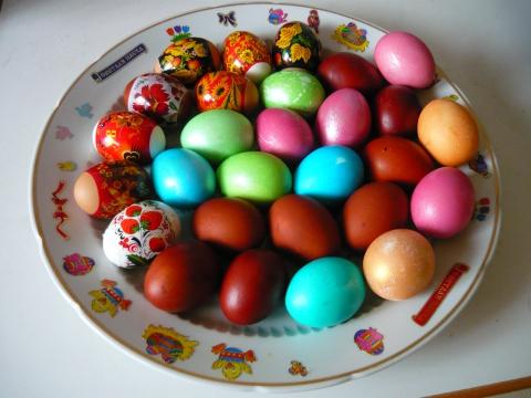 Пасхальные яйца - Александра Николаевна Литвинова