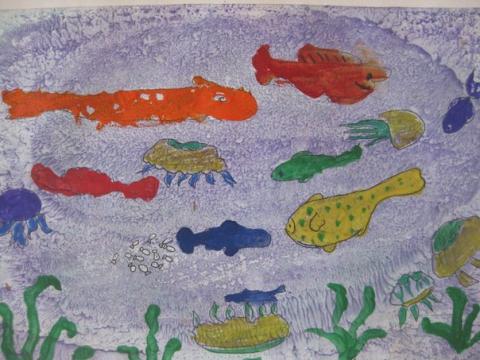 Подводный мир - Государственное бюджетное образовательное учреждение школа № 569 Невского  района Санкт-Петербурга