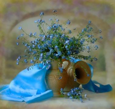 нежные маленькие цветы - Ольга Сергеевна Теплоухова