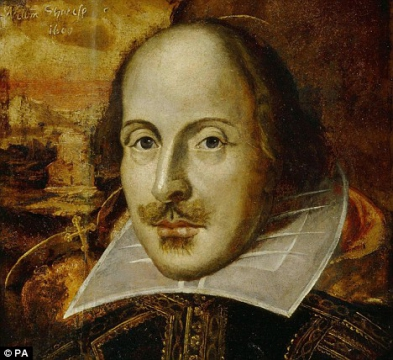 (William Shakespeare) (1564-1616)