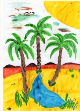 Сценарий мультфильма три пальмы
