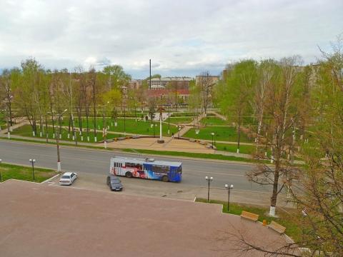 Вид из окна университета - Александр Владимирович Серолапкин