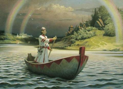Прекрасная картина русского художника БОРИСА ОЛЬШАНСКОГО