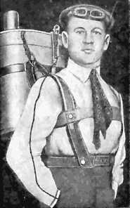Парашют придумал Г.Е. Котельников ещё в 1911 году, но в России патентовать его изобретение не стали. - Ирина Сергеевна Ивко
