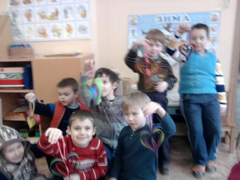 Сердечки к 14 февраля - Сообщество детских поделок.