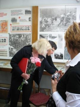 Гости из Франции в нашем музее  - Вера Игоревна Иванова