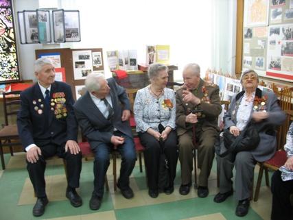 Встреча боевых друзей в нашем музее - Вера Игоревна Иванова