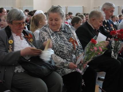 На концерте к Дню Победы 2012г. - Вера Игоревна Иванова