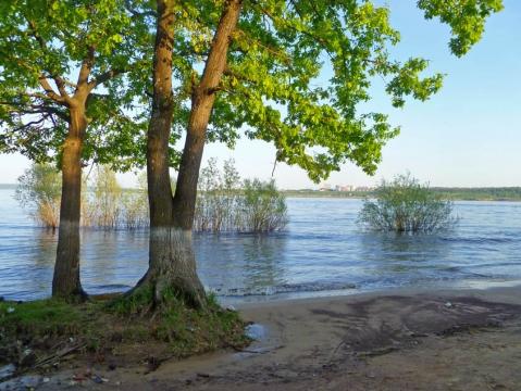 Разлив ниже ГЭС 2 - Александр Владимирович Серолапкин