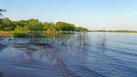 Разлив ниже ГЭС 4 - Александр Владимирович Серолапкин