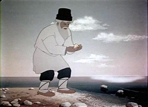 Костюм старика из золотой рыбки своими руками