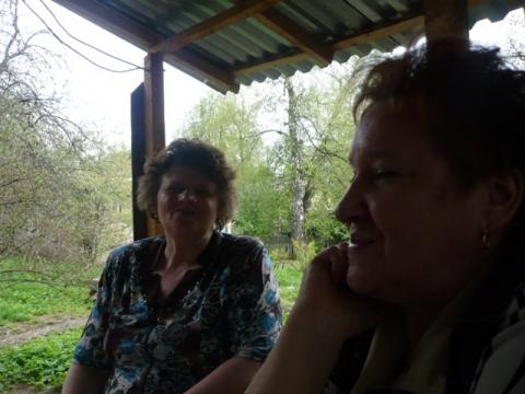 7 мая - мы с моей подругой химиком Ниночкой