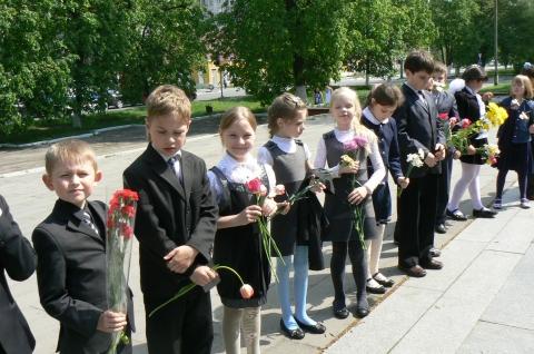 Возложение цветов - Наталья Анатольевна Пономарева