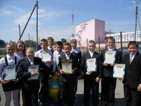 Лучший класс  школы 2012 года - Любовь Васильевна Сычева